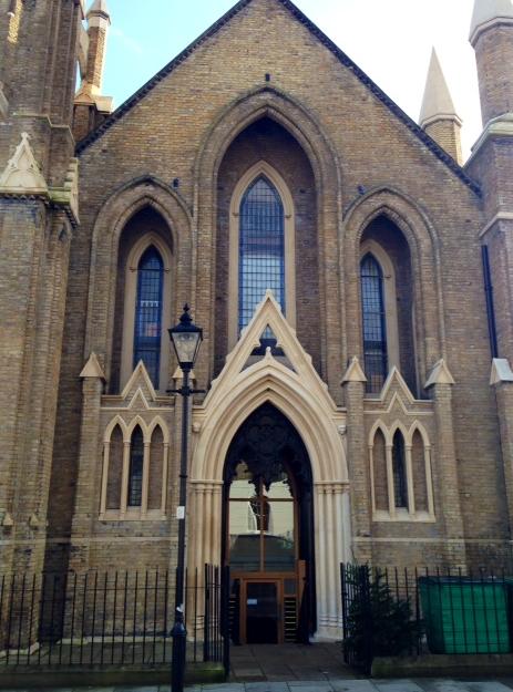 church converted into apartments - Islington London