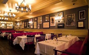 Dining Room at the Dean Street Townhouse
