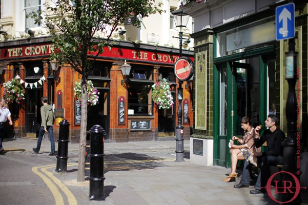 living in london-seven dials