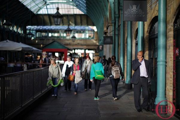 living in london walking