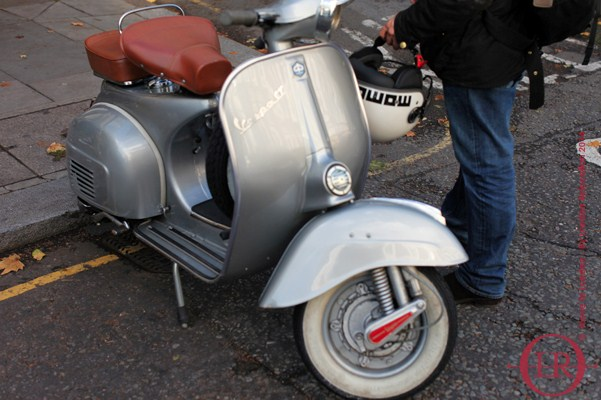 vespa in london