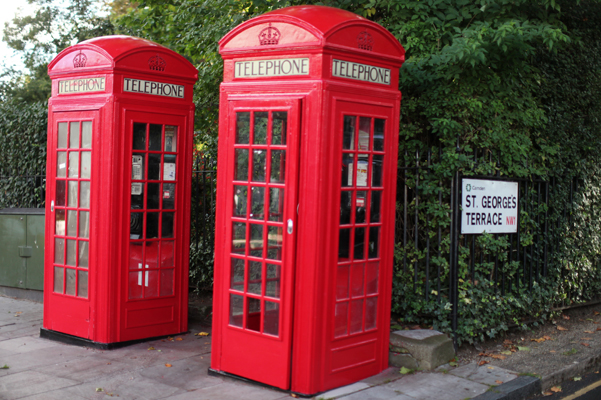moving to london telephone