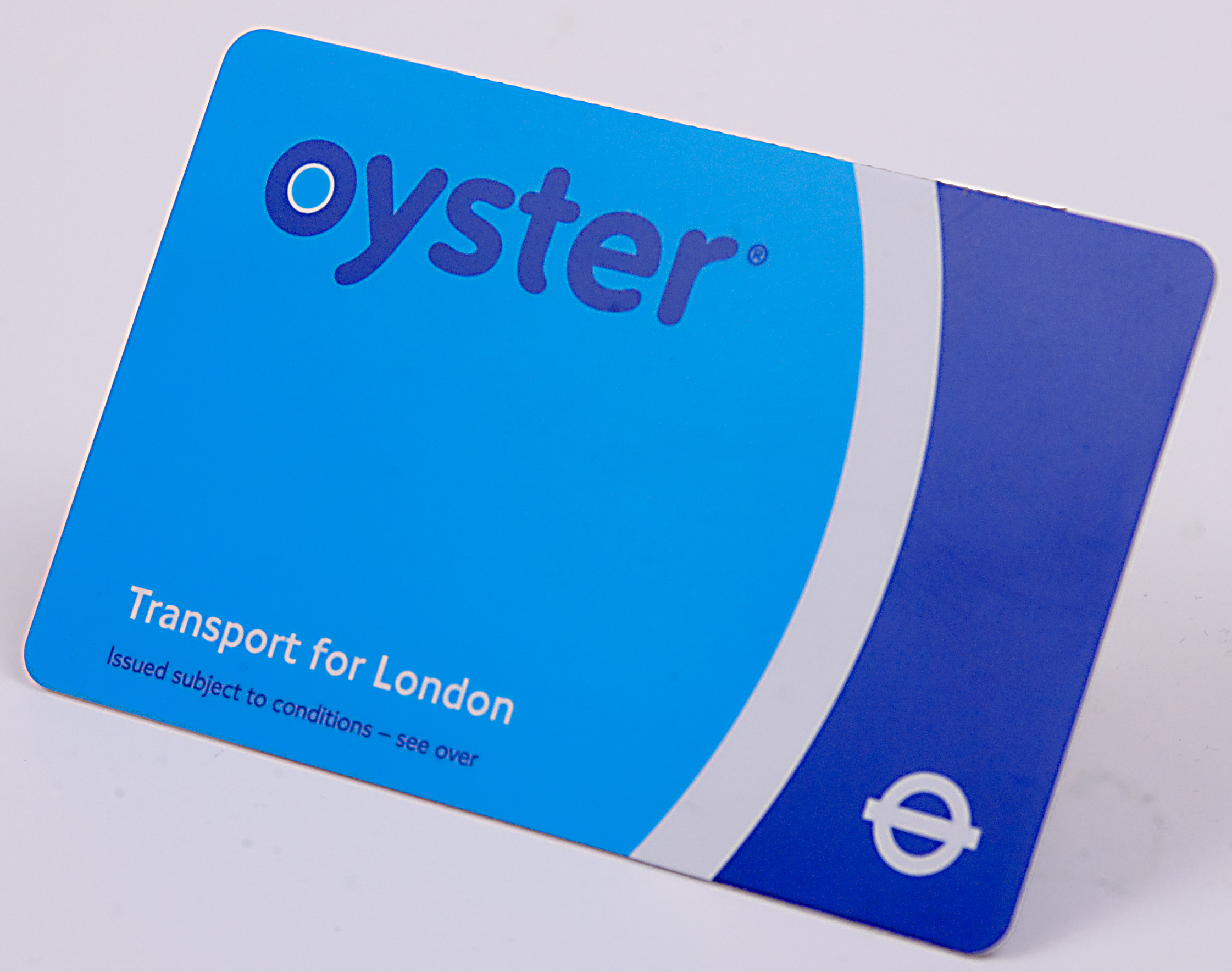 transport in London - oystercard