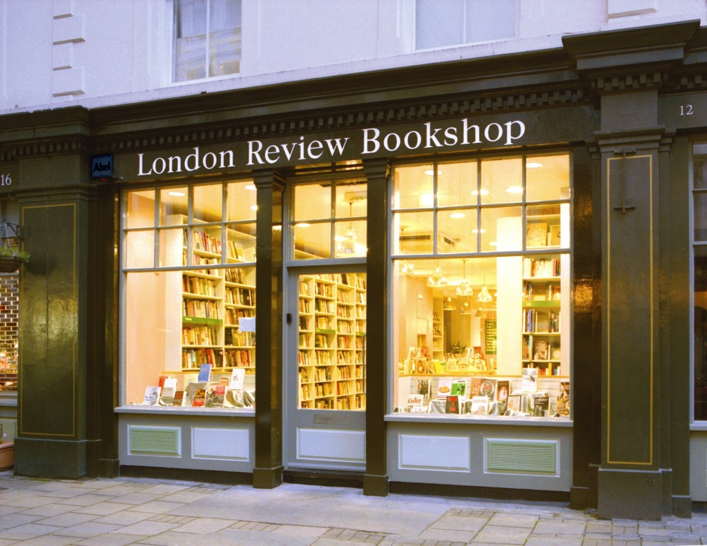 moving to london review bookshop