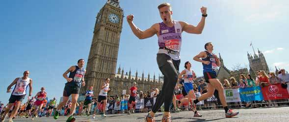 living in london marathon