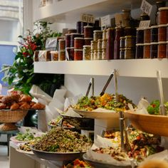 ottolenghi grocery shops in London