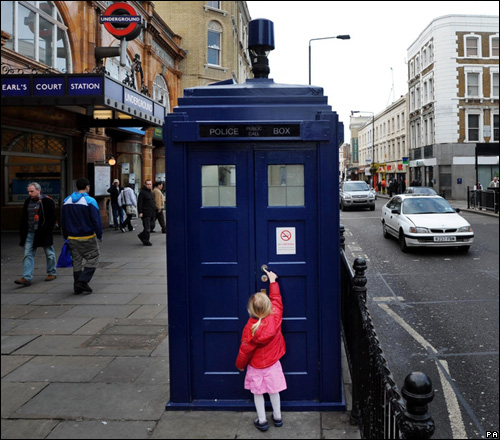 tardis in london