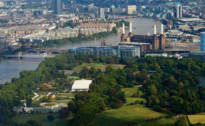 Battersea Park rentals