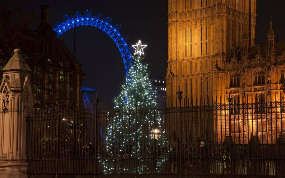 Top Ten London Christmas Light Displays