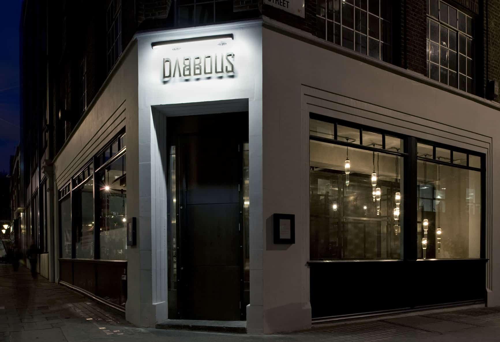 Chef Ollie Dabbous'Restaurant