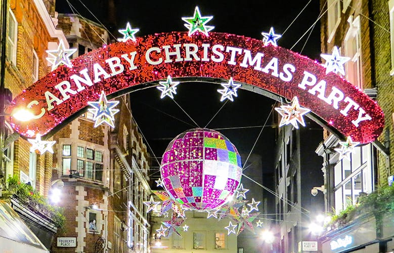 Christmas in Carnaby Street