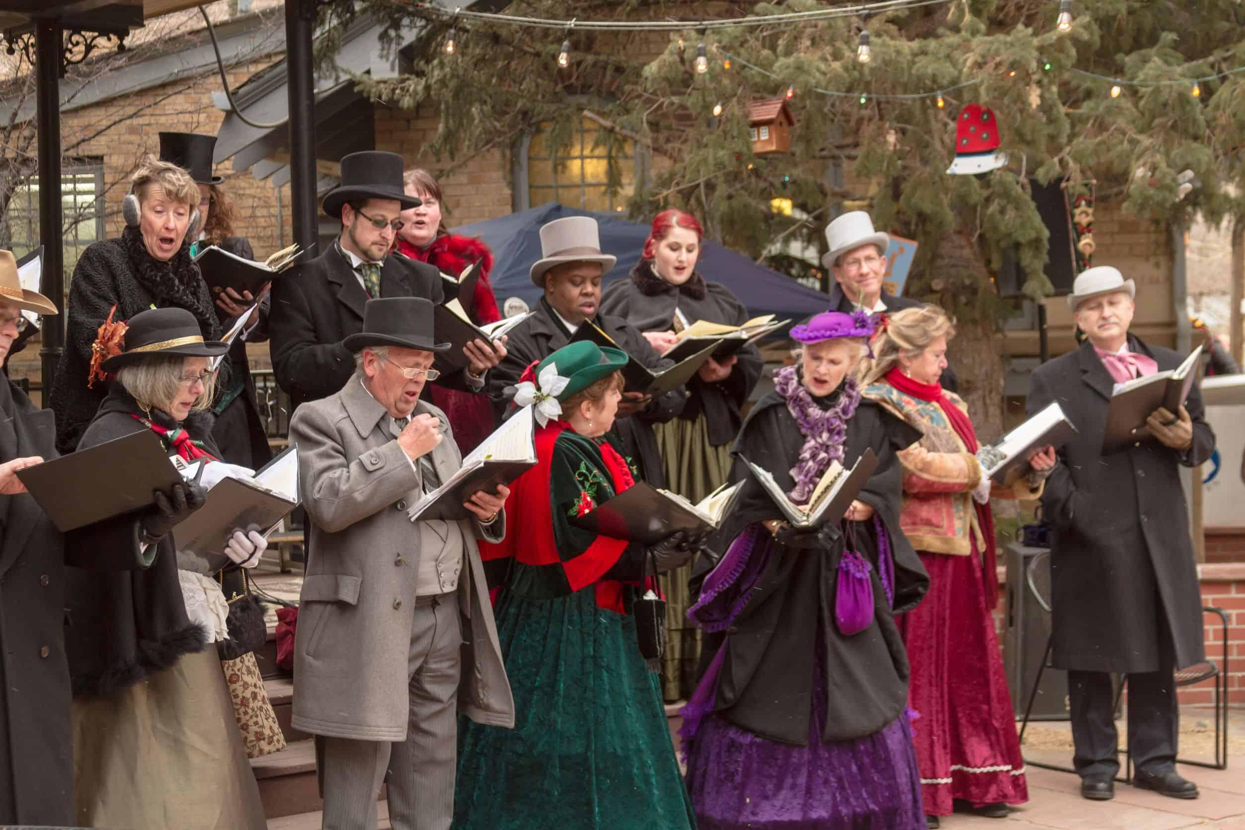 How to Go Christmas Caroling