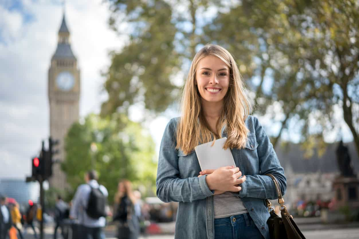 moving to London as a student
