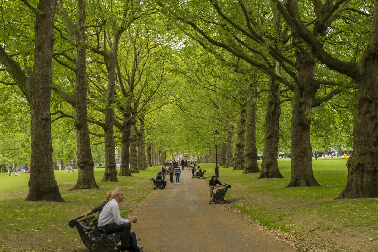 best London parks for students