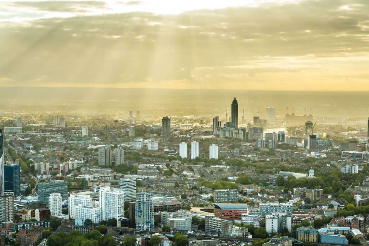 Western part of London